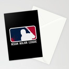 Negan Major League Stationery Cards