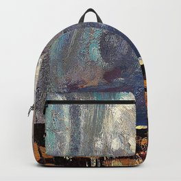Tom Thomson - Approaching Snowstorm - Digital Remastered Edition Backpack