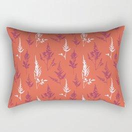 Astilbe Multicolor Rectangular Pillow