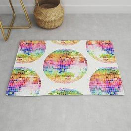 Disco Ball – Rainbow Rug