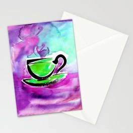 Coffee Dreams 13c by Kathy Morton Stanion Stationery Cards