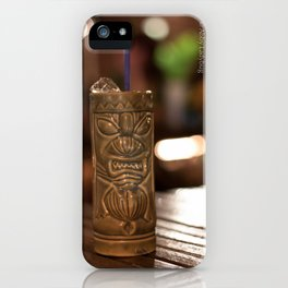 Tiki Mule iPhone Case