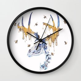 borne from your oblivion you are exalted Wall Clock