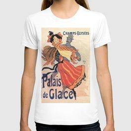 Vintage Ice skating palace Paris T-shirt