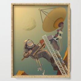 NASA / Poster Technicians Wanted Serving Tray