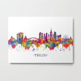 Tbilisi Georgia Skyline Metal Print