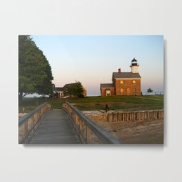 Norwalk,Sheffield Island, Lighthouse, Connecticut Metal Print