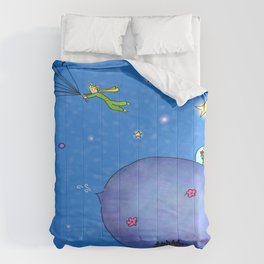 Fly Away Little Prince Comforters