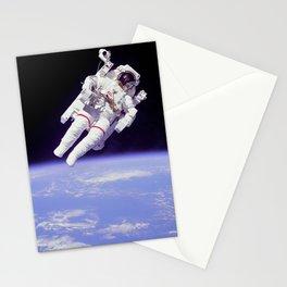 Astronaut on a Spacewalk Stationery Cards