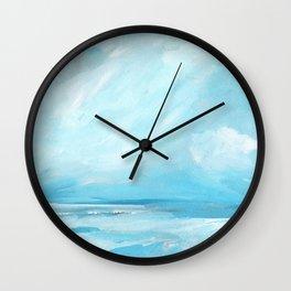 Resurgence - Stormy Ocean Seascape Wall Clock