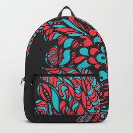 Gallito de las rocas tricolor B by #Bizzartino Backpack