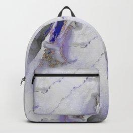 Marbled Gold Veins Backpack