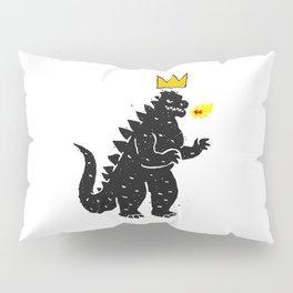 Jean-Michel Basquiat's Crown on Japanese Monster Pillow Sham