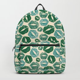 Green Kisses Backpack