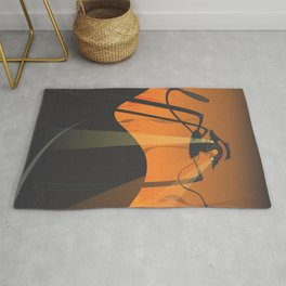 the war of the eyes Rug