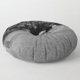 Chamoru Stones of Life - B/W Floor Pillow
