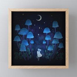 Fungi Forest Framed Mini Art Print
