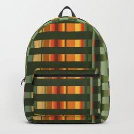 Pattern rectangle color multi I Backpack