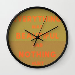 Remember When Wall Clock