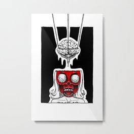 Mind the Mindless Metal Print