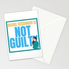 Chris Watts Nichol Kessinger Is Not Guilty Statement Opinion Stationery Cards