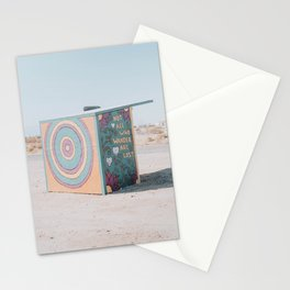 Not All Who Wander Are Lost / Slab City, California Stationery Cards