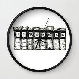Informed Wall Clock