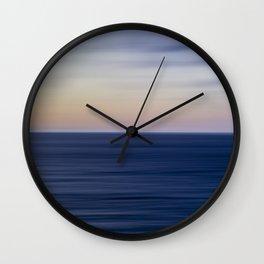 The Calming Sea II Wall Clock