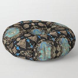 Hamsa Hand -Hand of Fatima Ornament Floor Pillow