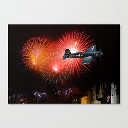 Triumphant Return Canvas Print