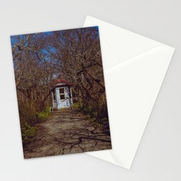sunny alley in the park, Sweden Stationery Cards