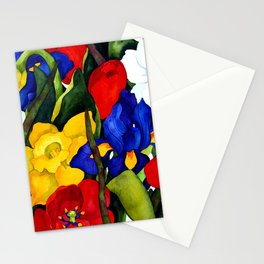 Floral Multiplication Stationery Cards