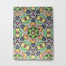 Natural Pattern No 2 Metal Print