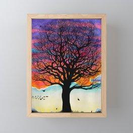 Seasons of Change Framed Mini Art Print