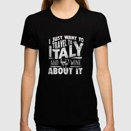 Italy Travel T-shirt