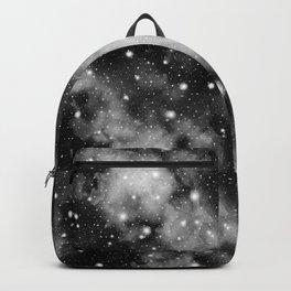 Black & White Galaxy Nebula Dream #1 #decor #art #society6 Backpack