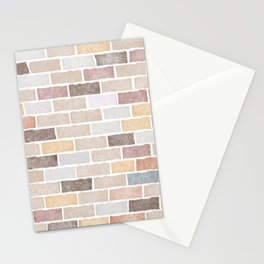 Brick on Brick Stationery Cards
