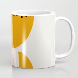 Mid century abstract art print Coffee Mug