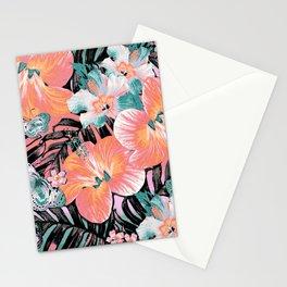 Coral Mint Aloha Stationery Cards