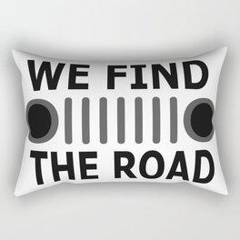 road-J Rectangular Pillow