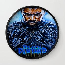 Black Panther Merchandise Wall Clock
