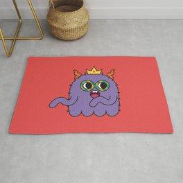 Monsticky Purple monster Rug