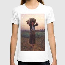 jules Breton - Sheperd's Star T-shirt