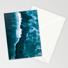 Wild Blue Ocean Wave – Oceanscape Photography Stationery Cards