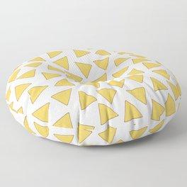 NACHOS NACHO CHIPS FAST FOOD PATTERN Floor Pillow