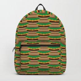 Cheeseburger Tessellation Backpack