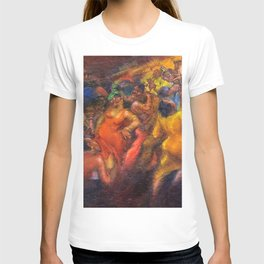 African American Masterpiece 'Jazz Club' by Jane Gibbs T-shirt