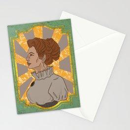 Propaganda art style Victorian - Original art print Stationery Cards