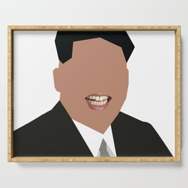 FOGS's People wallpaper collection NO:02B KIM JONG UN PNG Serving Tray
