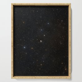 Hubble Space Telescope - Wide-field image of the area around the Meathook galaxy Serving Tray